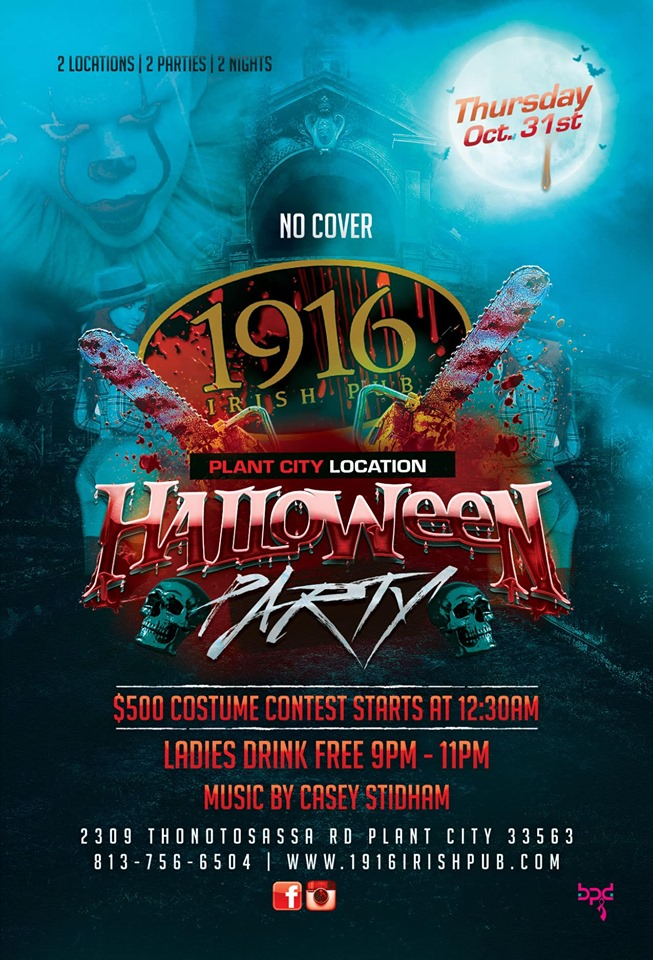 Halloween – 2 Parties 2 Locations